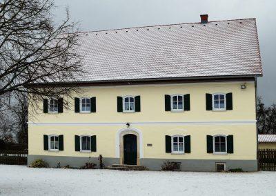 Fassadengestaltung eines historischen Wohnhauses