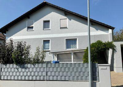 Fassadenanstrich Einfamilienhaus in Neustadt/Do.