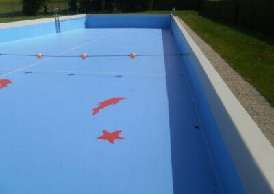 Schwimmbecken Sanierung Freibad Geibenstetten
